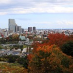 青葉城から見下ろす市街