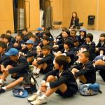 島根県から環境学習に参加した中学生