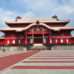 沖縄のシンボル世界遺産「首里城正殿」