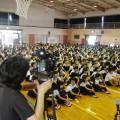 西日本放送のTVカメラが回る