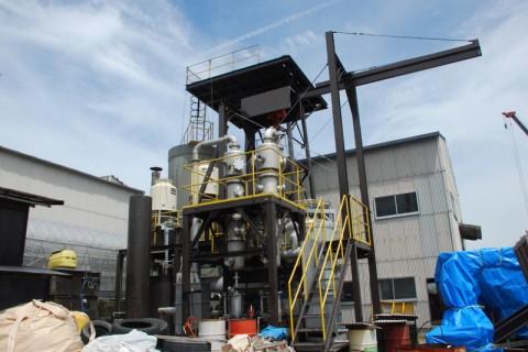 メタンガス発酵プラント