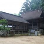 荘厳な吉川八幡宮本社
