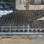 整然と並ぶ屋根瓦