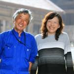 笑顔が素敵な宮木さん夫妻