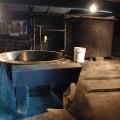生産用の大きなな窯