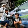 横浜から農業体験に来ている子供たち