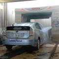 展示前に洗車していただいた
