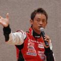 脇坂選手自らが立ち上げた被災地復興支援プロジェクト「SAVE JAPAN」を熱く語る