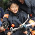 頑張れ未来の消防団