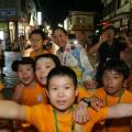 郡上おどりに参加した福島の子供たち