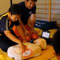 AEDを使った救命体験
