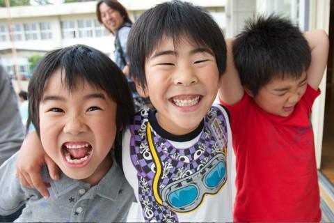 子供たちの元気な姿を見ると、こちらも元気が湧いてくる。