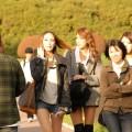若い観光客も訪れている