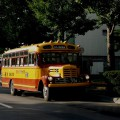 クラシックな函館バス