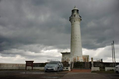 津軽海峡の航路を導く尻屋崎灯台