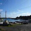 小さな漁港をいくつ見送っただろうか