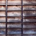 壁を杉板で覆うのが金山造りの特徴