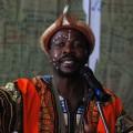 南アフリアから来た演奏者のイノックさん