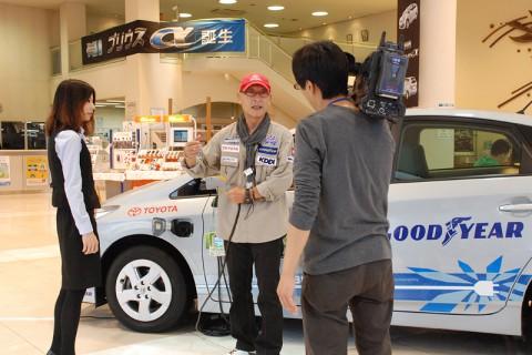 TVh テレビ北海道さんが取材に訪れた