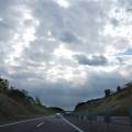 奥羽山脈を越えて福島県へ