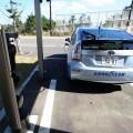 ガレージには単相200Vの充電設備がある