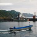 震災前の唐丹湾赤灯(複写)