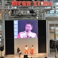 ダカールラリーに出場する寺田選手(ACPメンバー)TLC三橋選手のトークショー