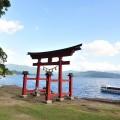 深い森に囲まれ日本一の深さを誇る田沢湖