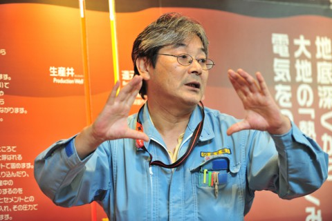 千田所長さんに発電所内を案内していただいた