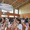 飛行船エネルギー教室が始まった