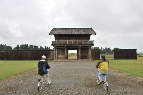 広大な敷地も自転車なら楽に観て回れる