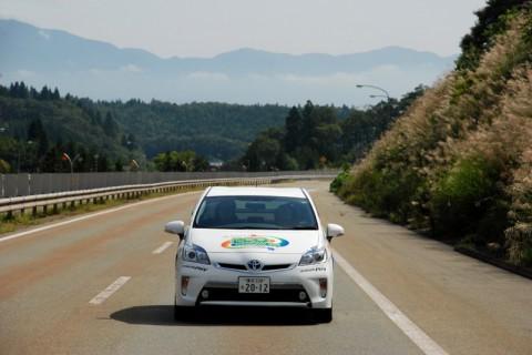 やさしい風景の秋田自動車道
