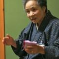 遠野弁で優しく語る「いろり火の会」 小松敦子さん