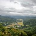 「源流の森」頂上からの眺望
