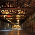 最大級の蔵では現代アート展が催されていた