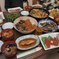 喜多方の郷土料理がずらりと並ぶ