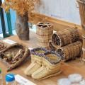 わら細工や陶芸なども体験できる
