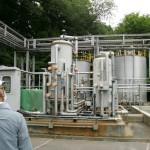 発電用の純水を生成するプラント