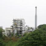 木質バイオマス発電所全景