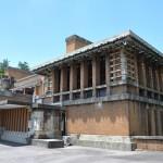明治村に移築された旧帝国ホテルライト館の玄関