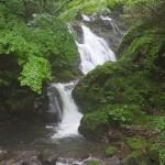 「渓谷の村」里美には数多くの滝がある