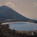 操業当初の沼原調整池(写真:電源開発/複写)