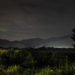 静かに眠る農園に星がまたたき始める