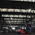 広大な解体工場