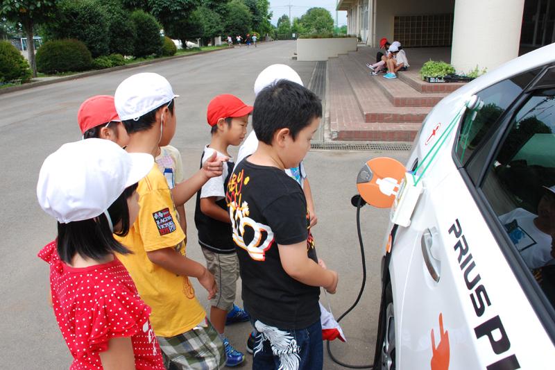 「トヨタ エコ&エネルギー教室」下野市立石橋北小学校