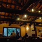柔らか木のぬくもりを感じるレストラン