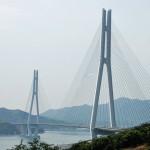 「多々羅大橋は」斜張橋で世界一の長さ