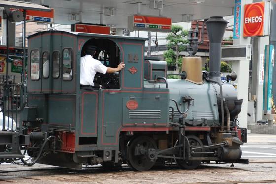 何とも愛くるしい機関車輛