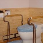 ※白松さんが研究を重ねて設計したバリアフリーのトイレ