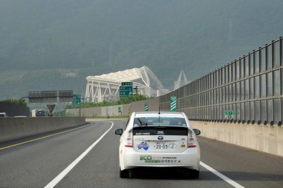 日韓合同開催2002年のFIFAワールドカップのために建設された大邱スタジアム